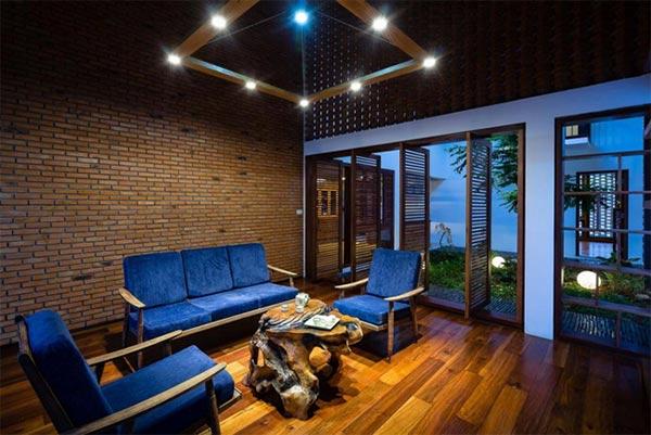 Thiết kế nội thất nhà cấp 4 đẹp diện tích 220m2