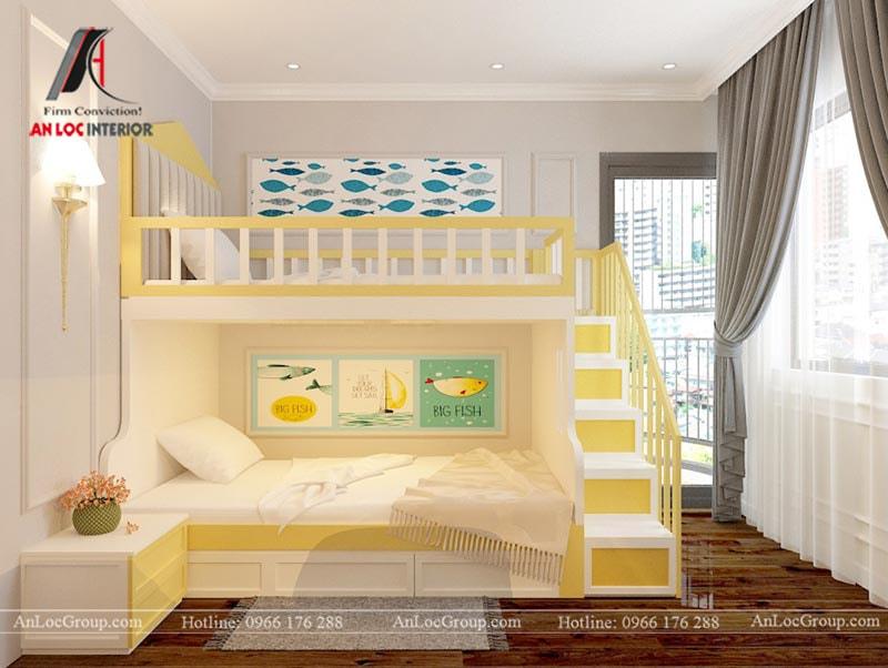 Thiết kế phòng ngủ cho bé trai - Mẫu 5
