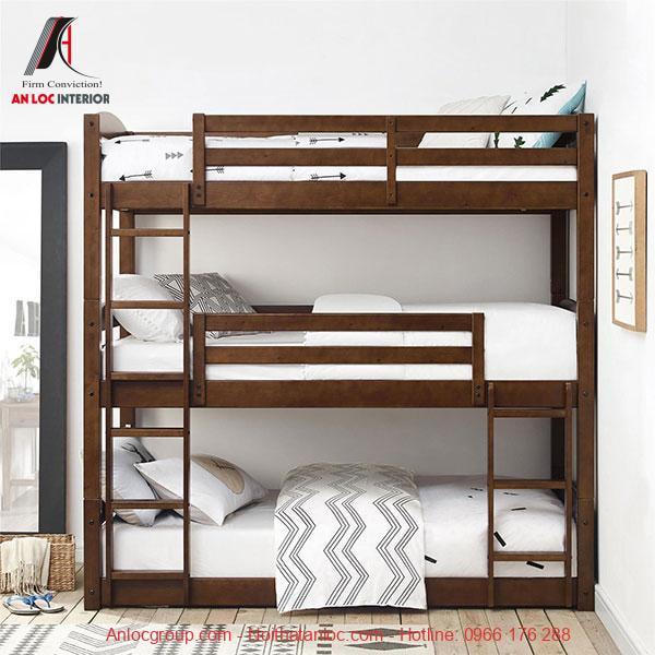 Mẫu 29 - Giường 3 tầng cho người lớn