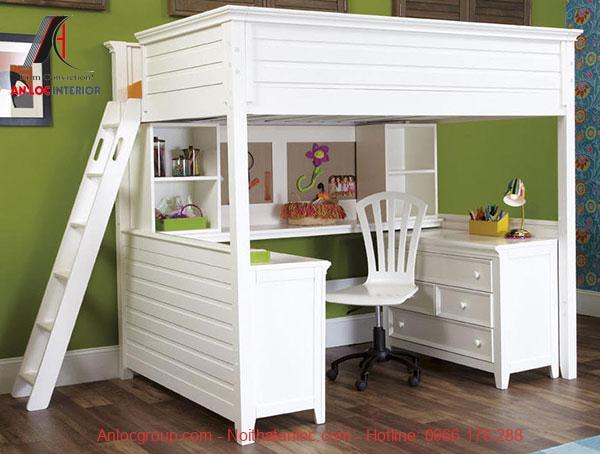 Mẫu 18 - Giường tầng đa năng cho không gian nhỏ hẹp