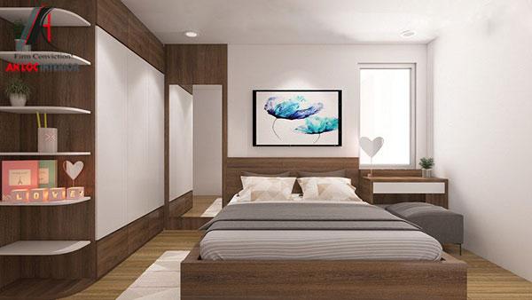 19. Mẫu giường hộp từ gỗ