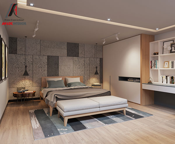 21. Mẫu giường ngủ đẹp, hiện đại từ gỗ tự nhiên