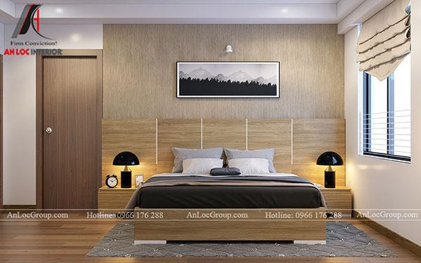 7. Giường gỗ hiện đại sang trọng