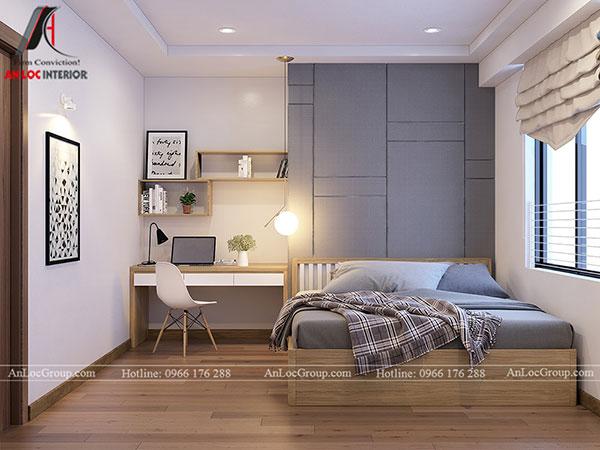 8. Thiết kế giường ngủ phù hợp với diện tích căn phòng