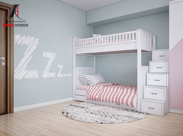 11. Mẫu thiết kế giường tầng hiện đại