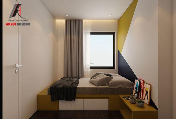 14. Mẫu giường ngủ hiện đại cho bé trai