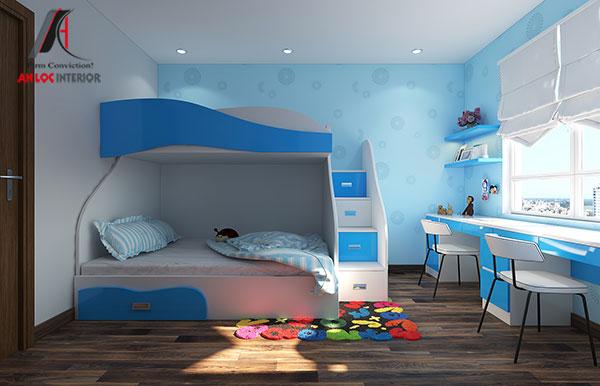 15. Giường tầng thông minh cho bé dưới 10 tuổi