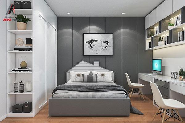 18. Đầu giường nổi bật giúp tạo sự thích thú cho trẻ nhỏ