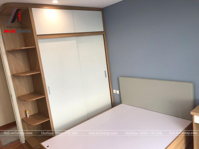 Thi công nội thất chung cư 102m2 tại Goldseason 47 Nguyễn Tuân - Ảnh 7