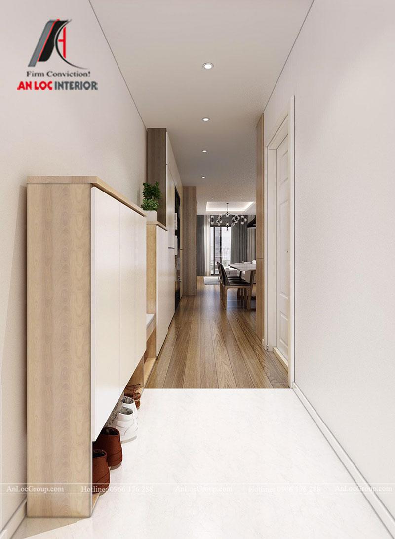 Thiết kế căn hộ 102m2 tại Goldseason 47 Nguyễn Tuân - Ảnh 1