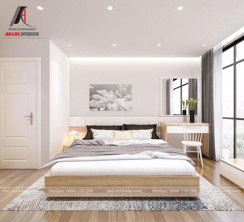 Thiết kế căn hộ 102m2 tại Goldseason 47 Nguyễn Tuân - Ảnh 9