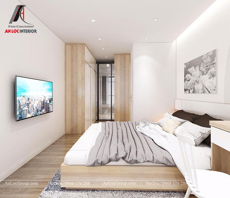 Thiết kế căn hộ 102m2 tại Goldseason 47 Nguyễn Tuân - Ảnh 12