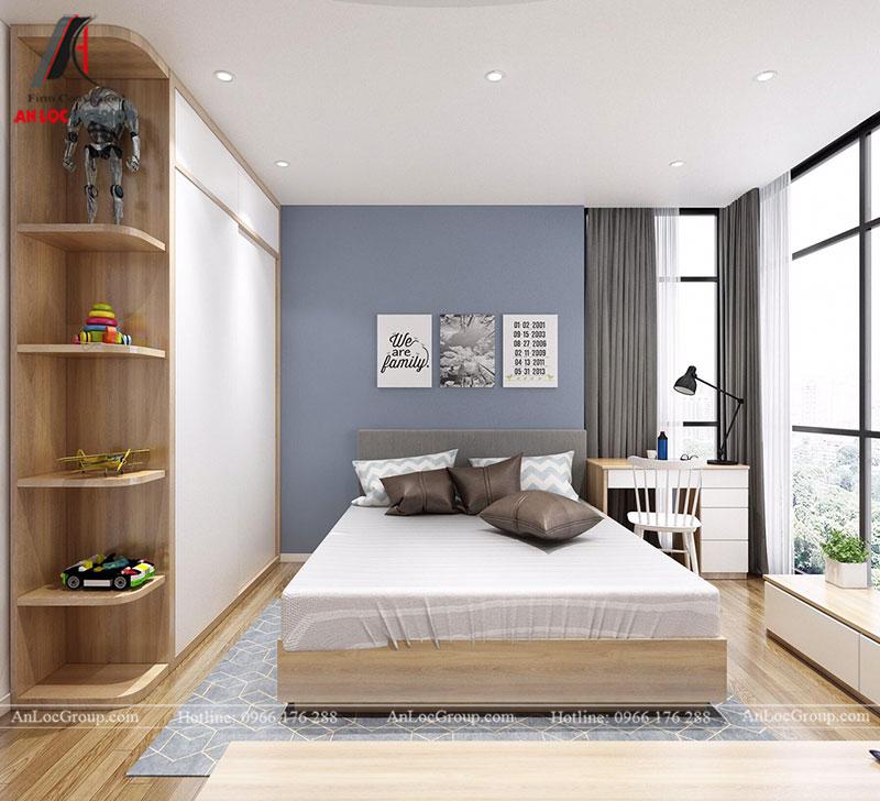 Thiết kế căn hộ 102m2 tại Goldseason 47 Nguyễn Tuân - Ảnh 16