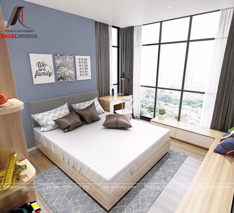Thiết kế căn hộ 102m2 tại Goldseason 47 Nguyễn Tuân - Ảnh 18