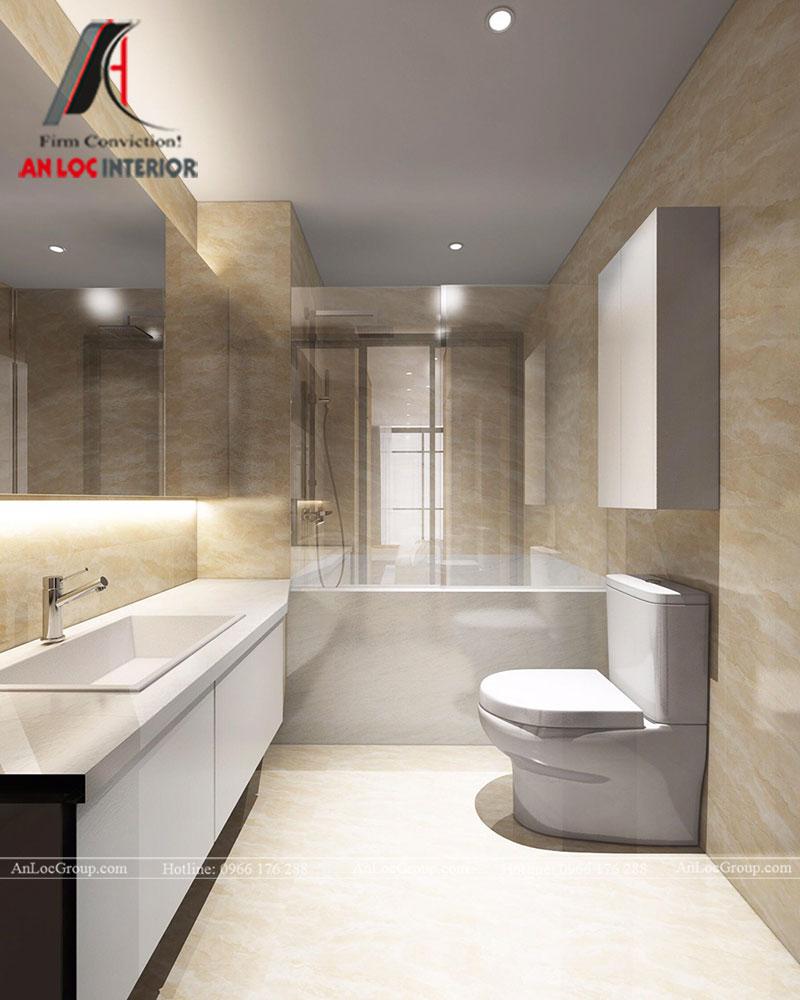 Thiết kế căn hộ 102m2 tại Goldseason 47 Nguyễn Tuân - Ảnh 19