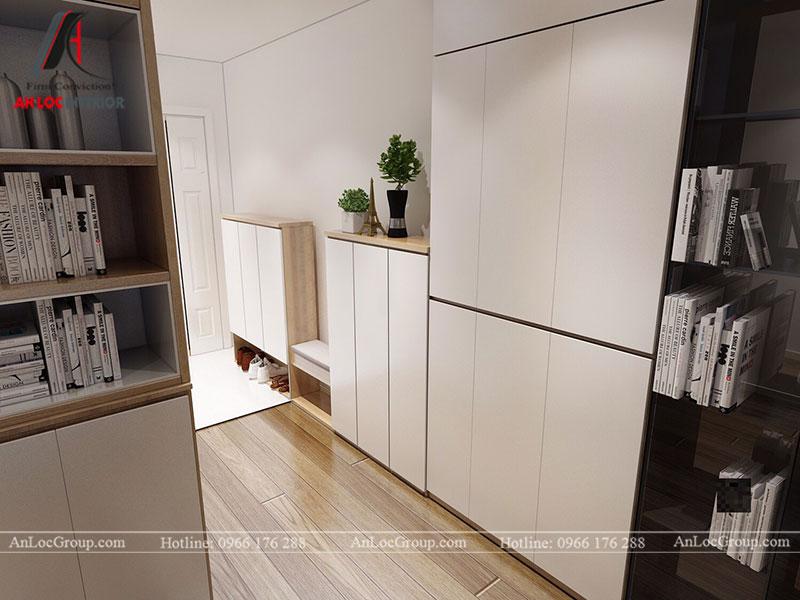 Thiết kế căn hộ 102m2 tại Goldseason 47 Nguyễn Tuân - Ảnh 2