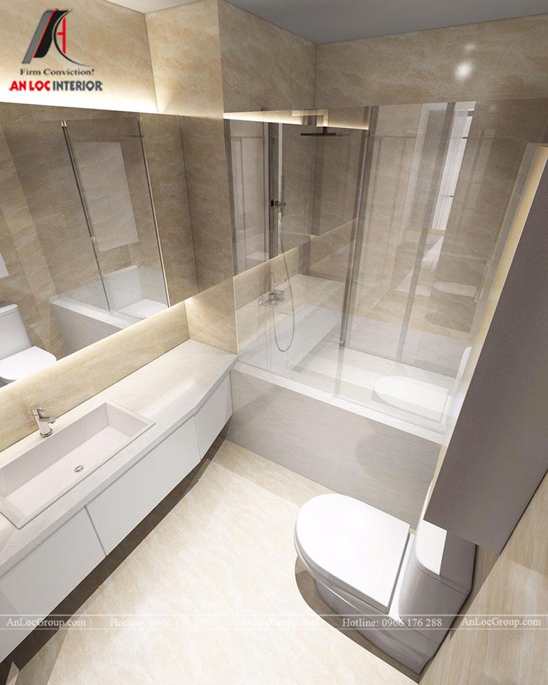 Thiết kế căn hộ 102m2 tại Goldseason 47 Nguyễn Tuân - Ảnh 20