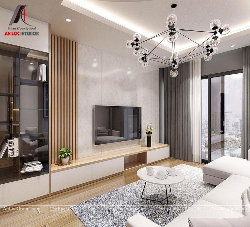 Thiết kế căn hộ 102m2 tại Goldseason 47 Nguyễn Tuân - Ảnh 3
