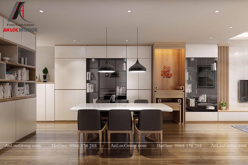 Thiết kế căn hộ 102m2 tại Goldseason 47 Nguyễn Tuân - Ảnh 4