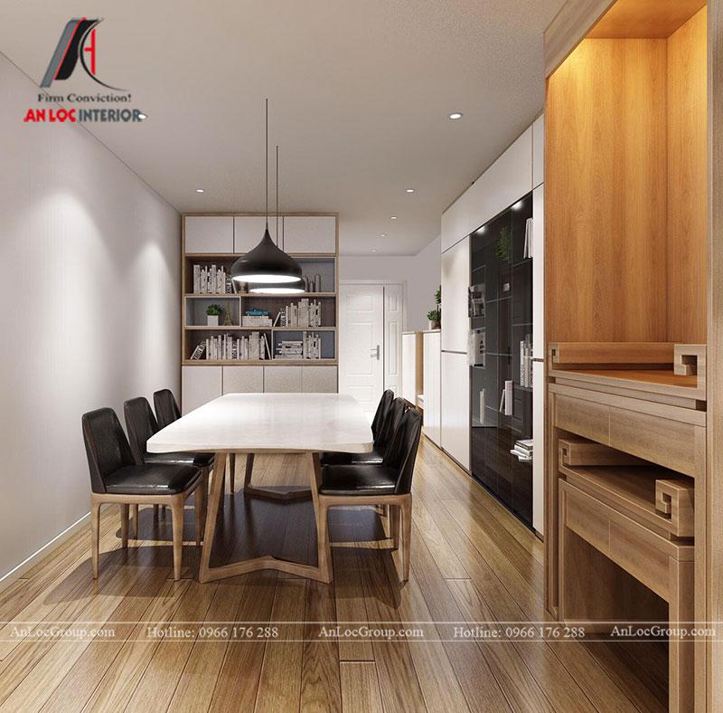Thiết kế căn hộ 102m2 tại Goldseason 47 Nguyễn Tuân - Ảnh 5