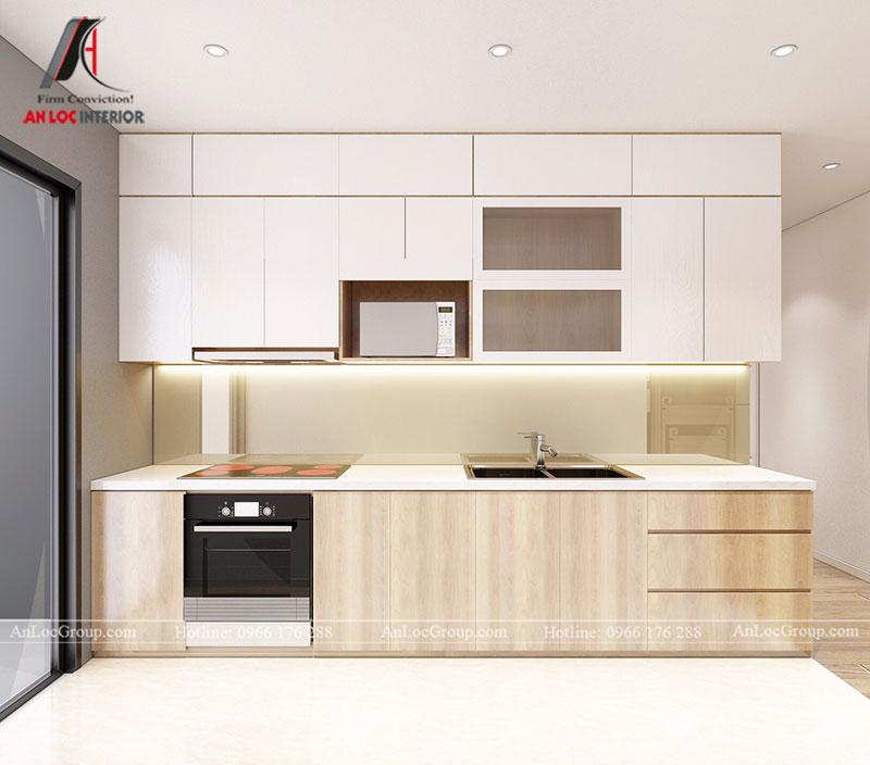 Thiết kế căn hộ 102m2 tại Goldseason 47 Nguyễn Tuân - Ảnh 6