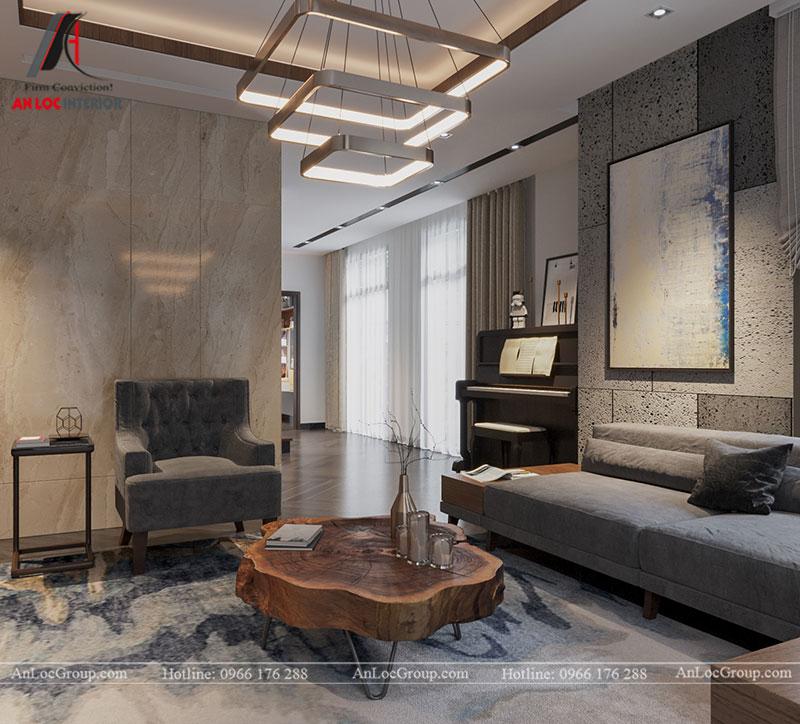 Thiết kế nội thất biệt thự liền kề Vinhomes Mễ Trì - Ảnh 1