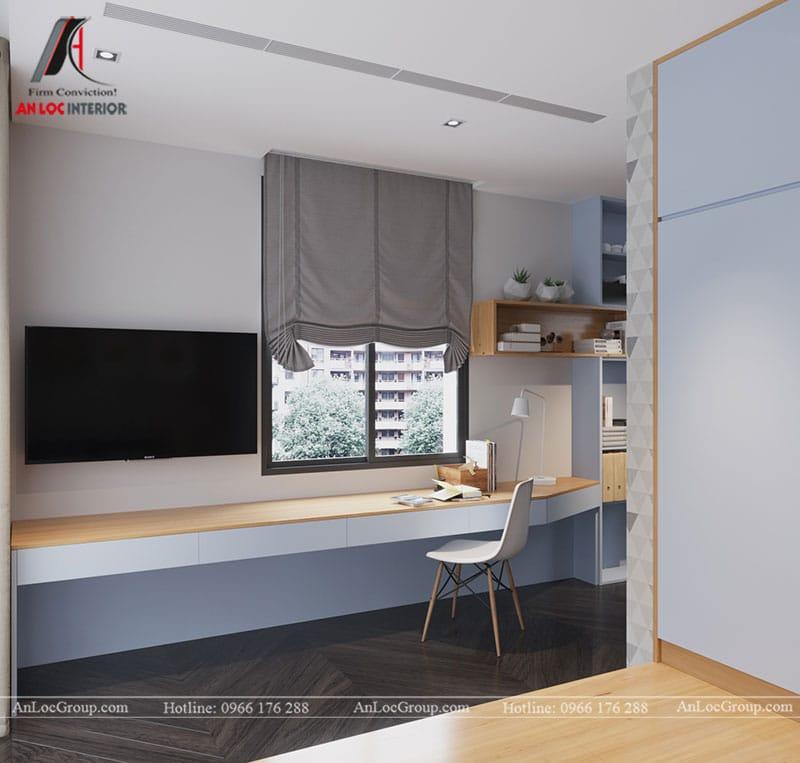 Thiết kế nội thất biệt thự liền kề Vinhomes Mễ Trì - Ảnh 10