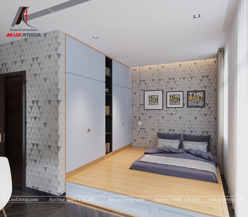 Thiết kế nội thất biệt thự liền kề Vinhomes Mễ Trì - Ảnh 11