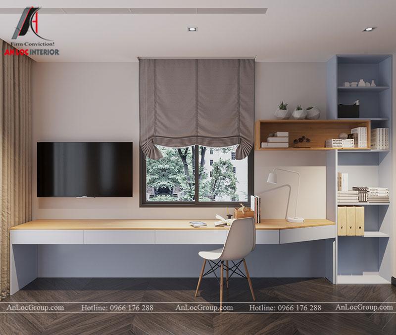 Thiết kế nội thất biệt thự liền kề Vinhomes Mễ Trì - Ảnh 12