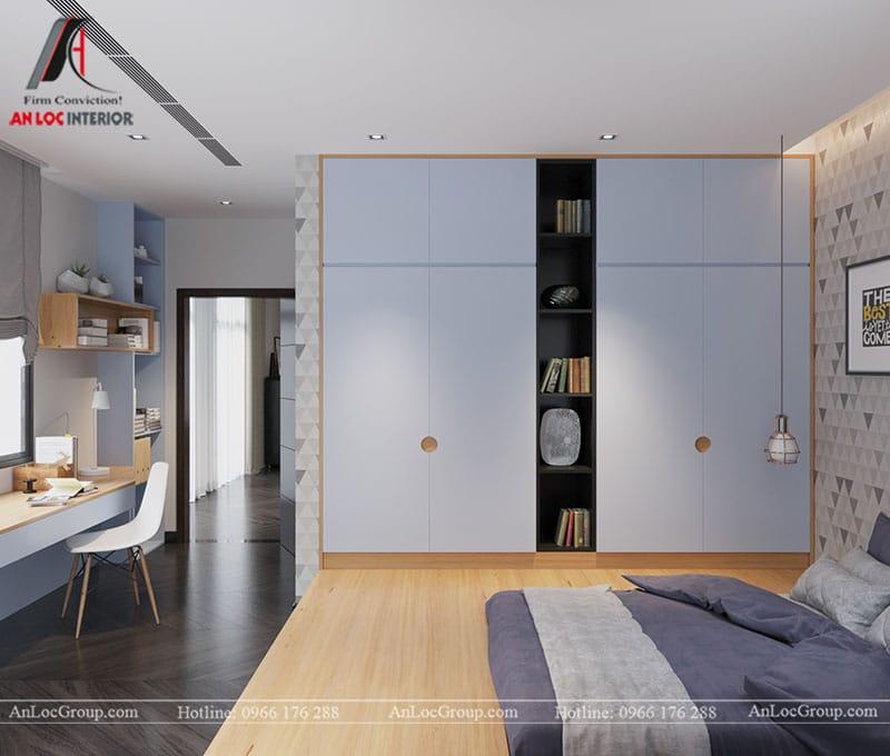 Thiết kế nội thất biệt thự liền kề Vinhomes Mễ Trì - Ảnh 13