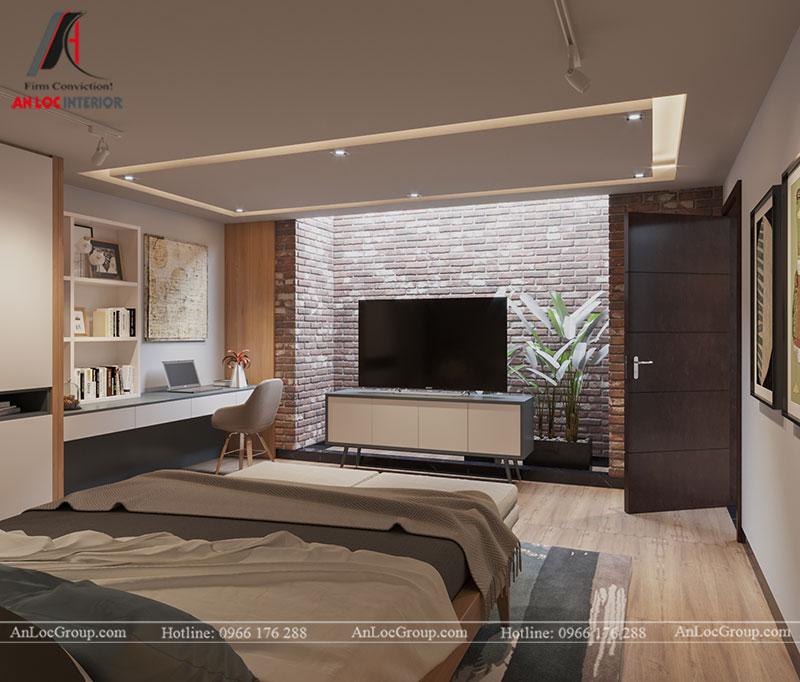 Thiết kế nội thất biệt thự liền kề Vinhomes Mễ Trì - Ảnh 16