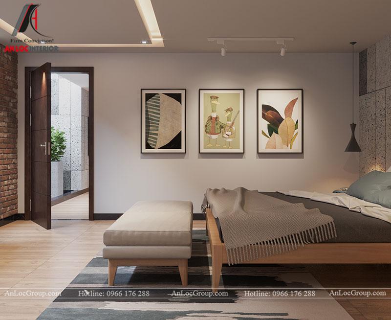 Những bức tranh giúp phòng ngủ master tăng thêm tính thẩm mỹ