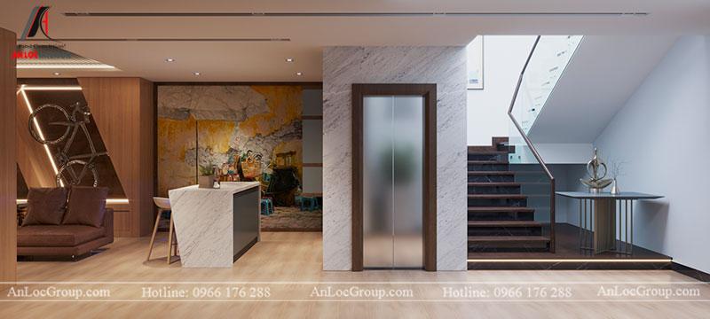 Thiết kế nội thất biệt thự liền kề Vinhomes Mễ Trì - Ảnh 18