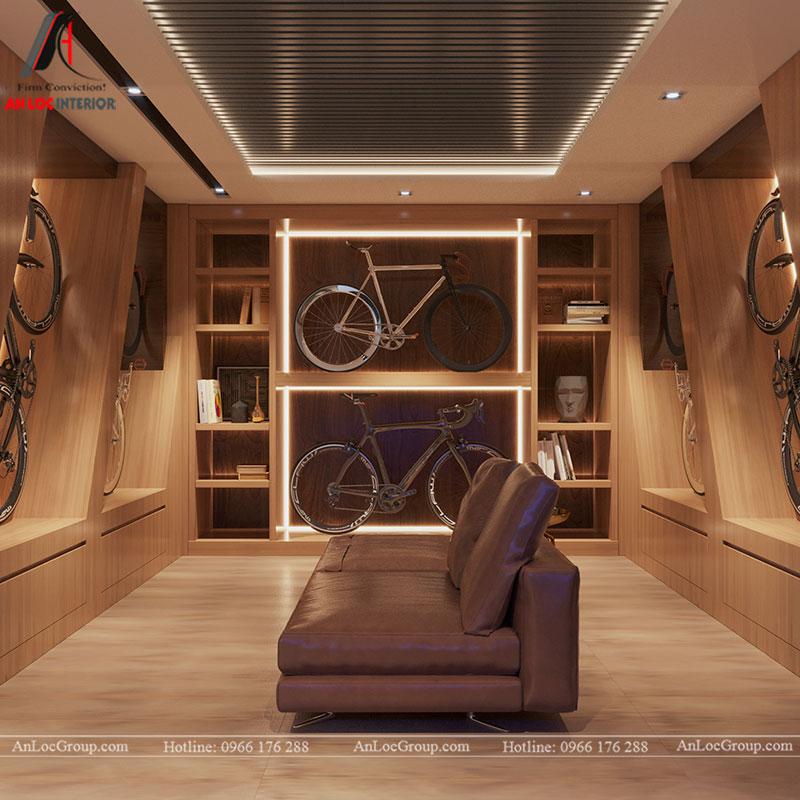 Thiết kế nội thất biệt thự liền kề Vinhomes Mễ Trì - Ảnh 20
