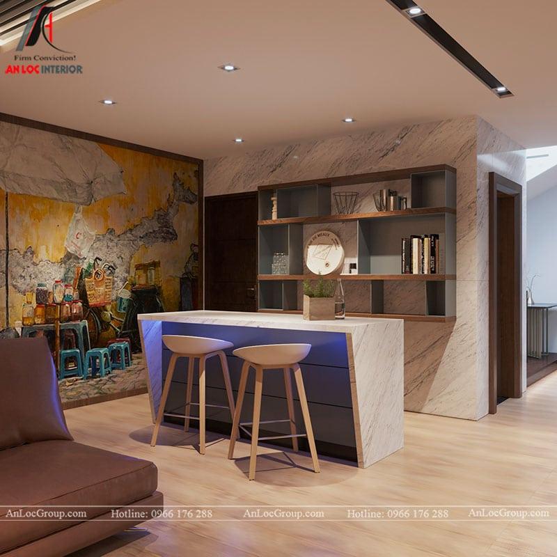 Thiết kế nội thất biệt thự liền kề Vinhomes Mễ Trì - Ảnh 23