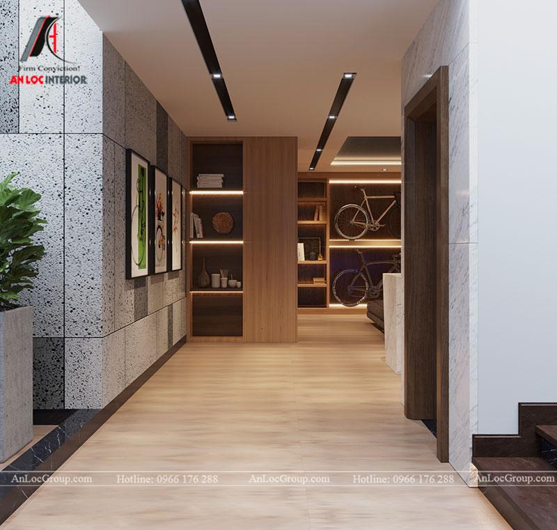 Thiết kế nội thất biệt thự liền kề Vinhomes Mễ Trì - Ảnh 27