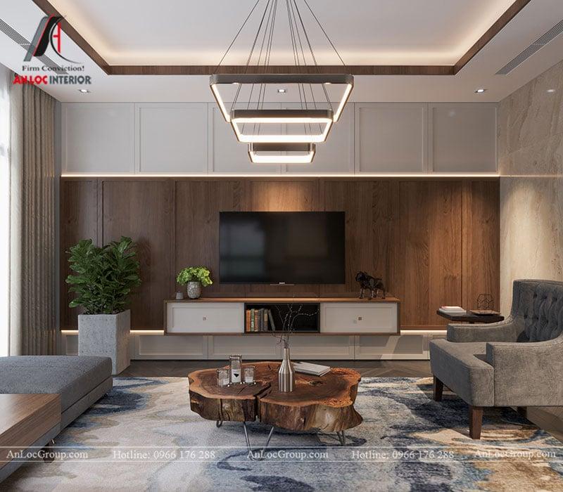 Thiết kế nội thất biệt thự liền kề Vinhomes Mễ Trì - Ảnh 4