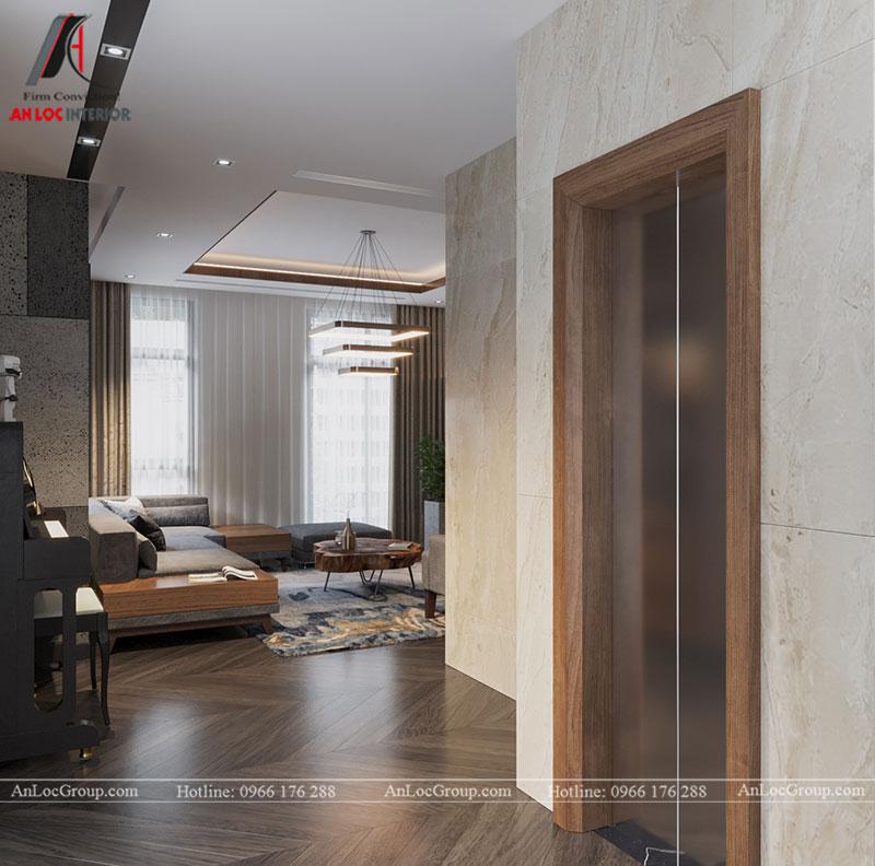 Thiết kế nội thất biệt thự liền kề Vinhomes Mễ Trì - Ảnh 5