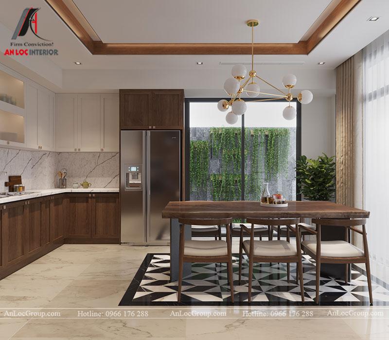 Thiết kế nội thất biệt thự liền kề Vinhomes Mễ Trì - Ảnh 8