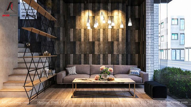 Thiết kế nội thất quán cafe 260m2 tại Vinhomes Tân Cảng - Ảnh 2