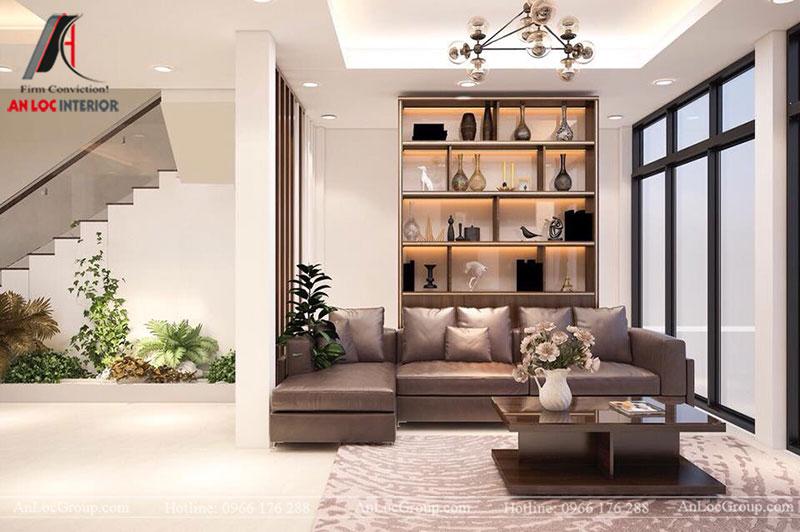 Mẫu nội thất nhà phố đẹp 280m2 tại thành phố Bắc Ninh