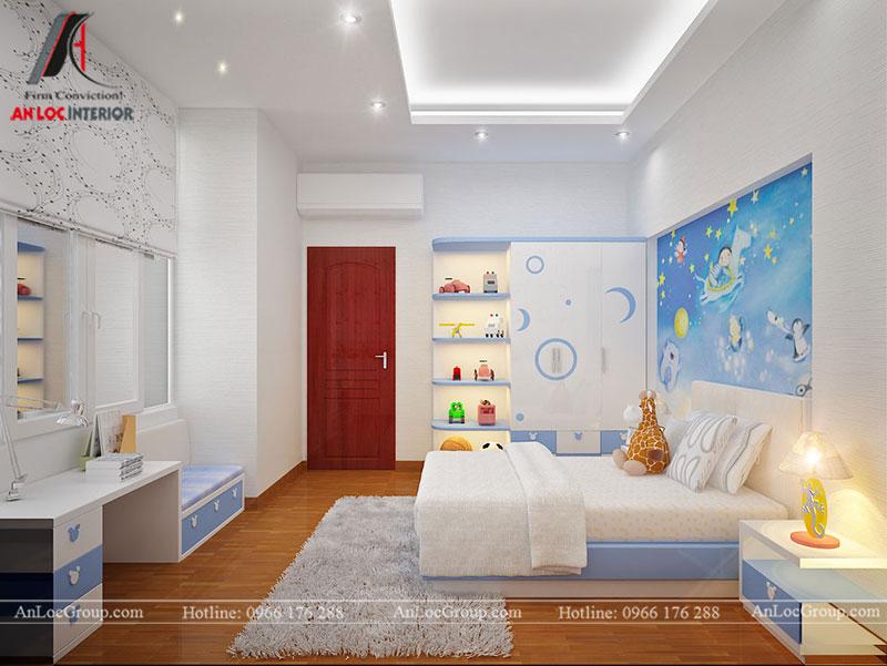 Mẫu nội thất nhà phố đẹp tại Bắc Ninh - Ảnh 8