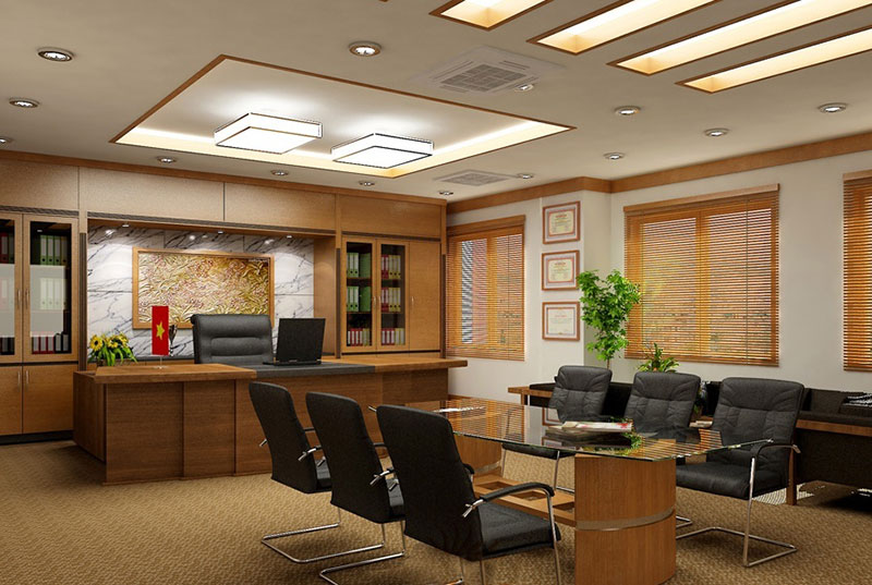 Phòng giám đốc kết hợp với phòng họp