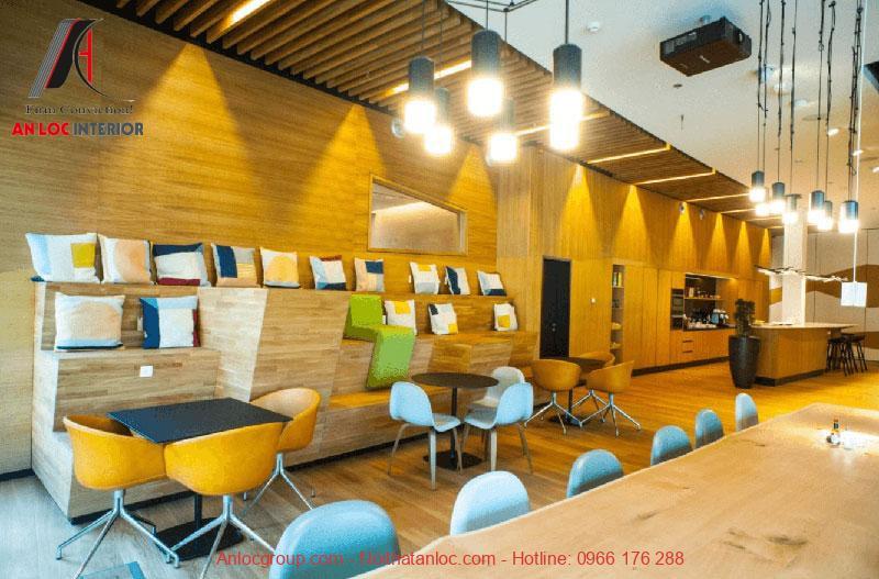 Mẫu thiết kế nội thất văn phòng làm việc 3