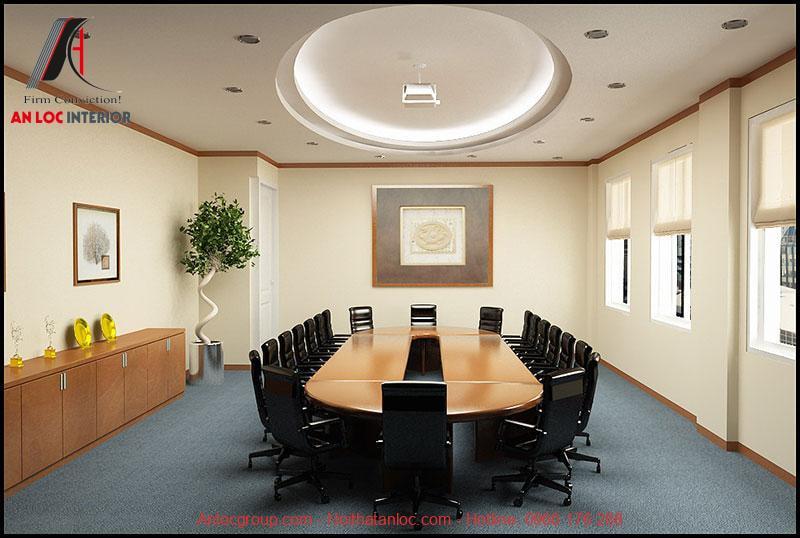 Mẫu thiết kế phòng họp 10