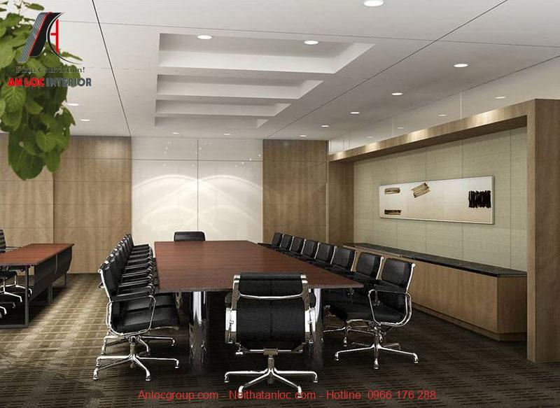 Mẫu thiết kế phòng họp 11