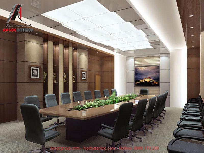 Mẫu thiết kế phòng họp 2