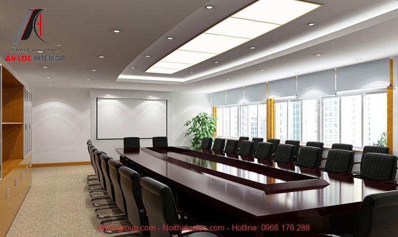 Mẫu thiết kế phòng họp 4