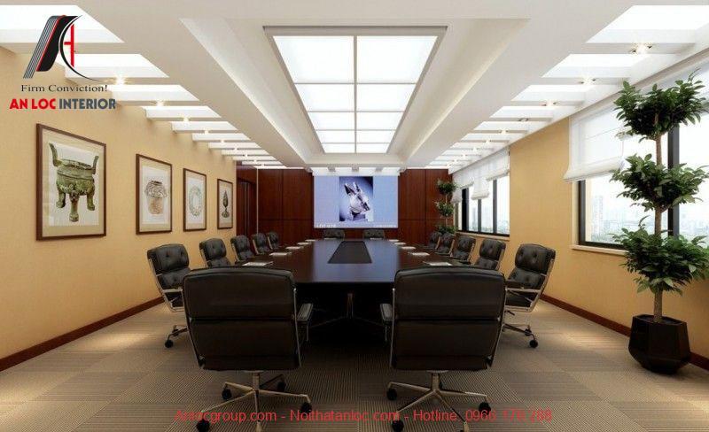 Mẫu thiết kế phòng họp 5