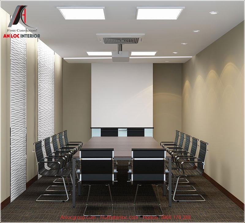Mẫu thiết kế phòng họp 6